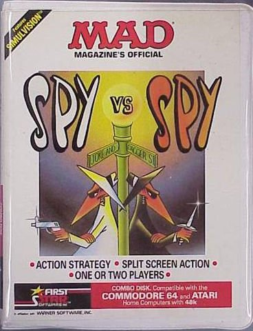 #C64 GOTD is one that I loved to play with friends, it was the best multi player game  SPY VS SPY 1984 First Star Software #retrogaming #80s <br>http://pic.twitter.com/cGC1GF55ou