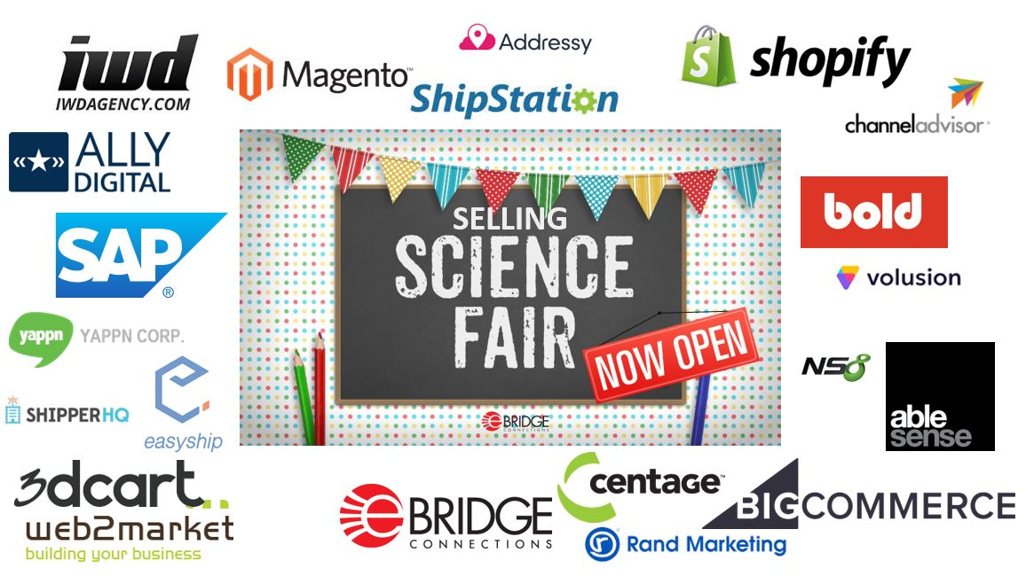 NOW OPEN! Browse #apps and #vendors that make #online #selling simpler. This way to the fair --&gt;  http://www. ebridgeconnections.com/Special-Pages/ Selling-Science-Fair.aspx &nbsp; …  #sellingsciencefair <br>http://pic.twitter.com/0LHcdrhYtY