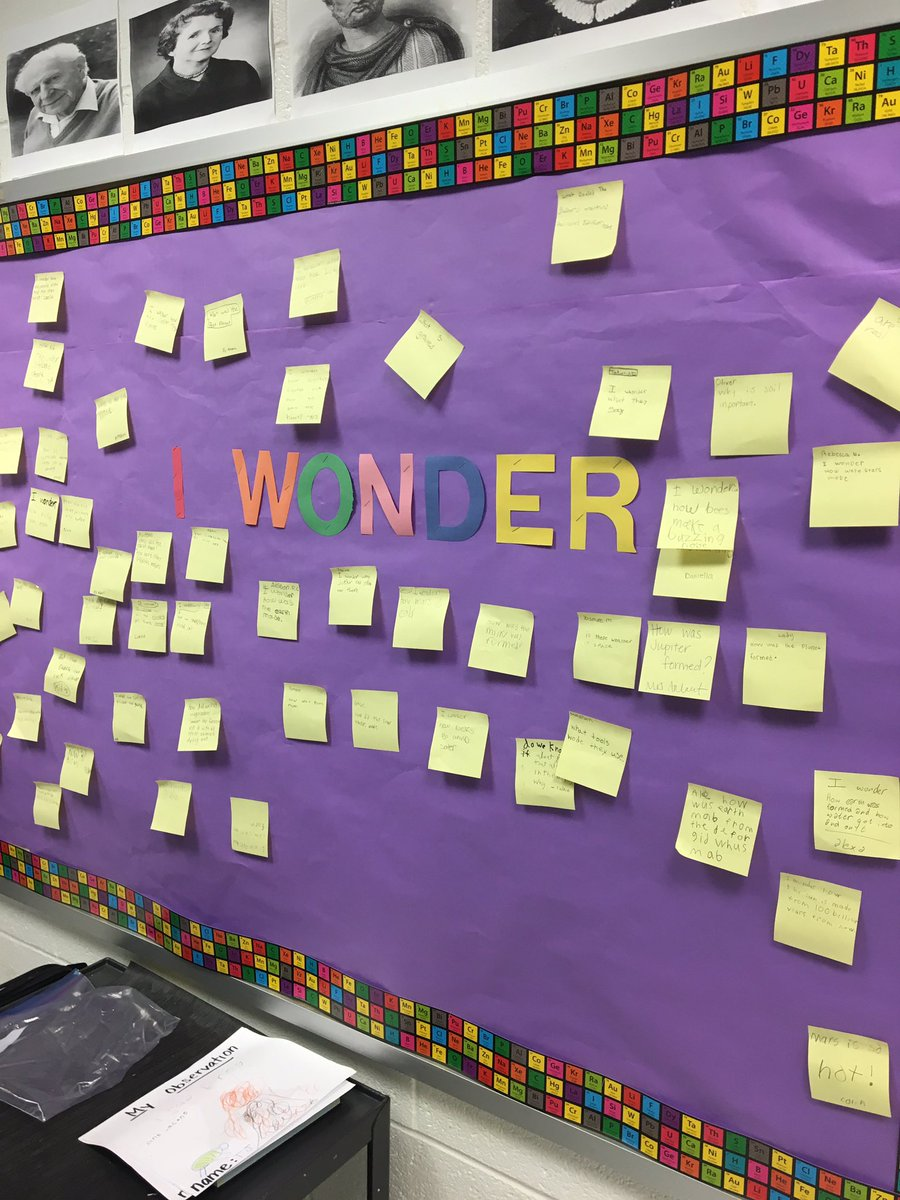 Loving the #wonder wall @SaratogaESFCPS. What do you wonder about?<br>http://pic.twitter.com/dQzIomrs3x