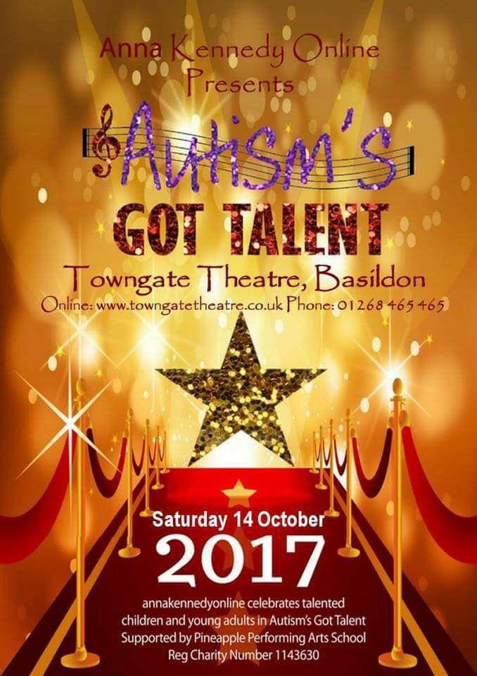 #GetInspired  http:// annakennedyonline.com/autisms-got-ta  &nbsp;  … &#39; 14th Oct #Autism &#39;s Got #Talent #Tickets avail #charity #performance #Entertainment @AnnaKennedy1 <br>http://pic.twitter.com/NsgSdM1wrF