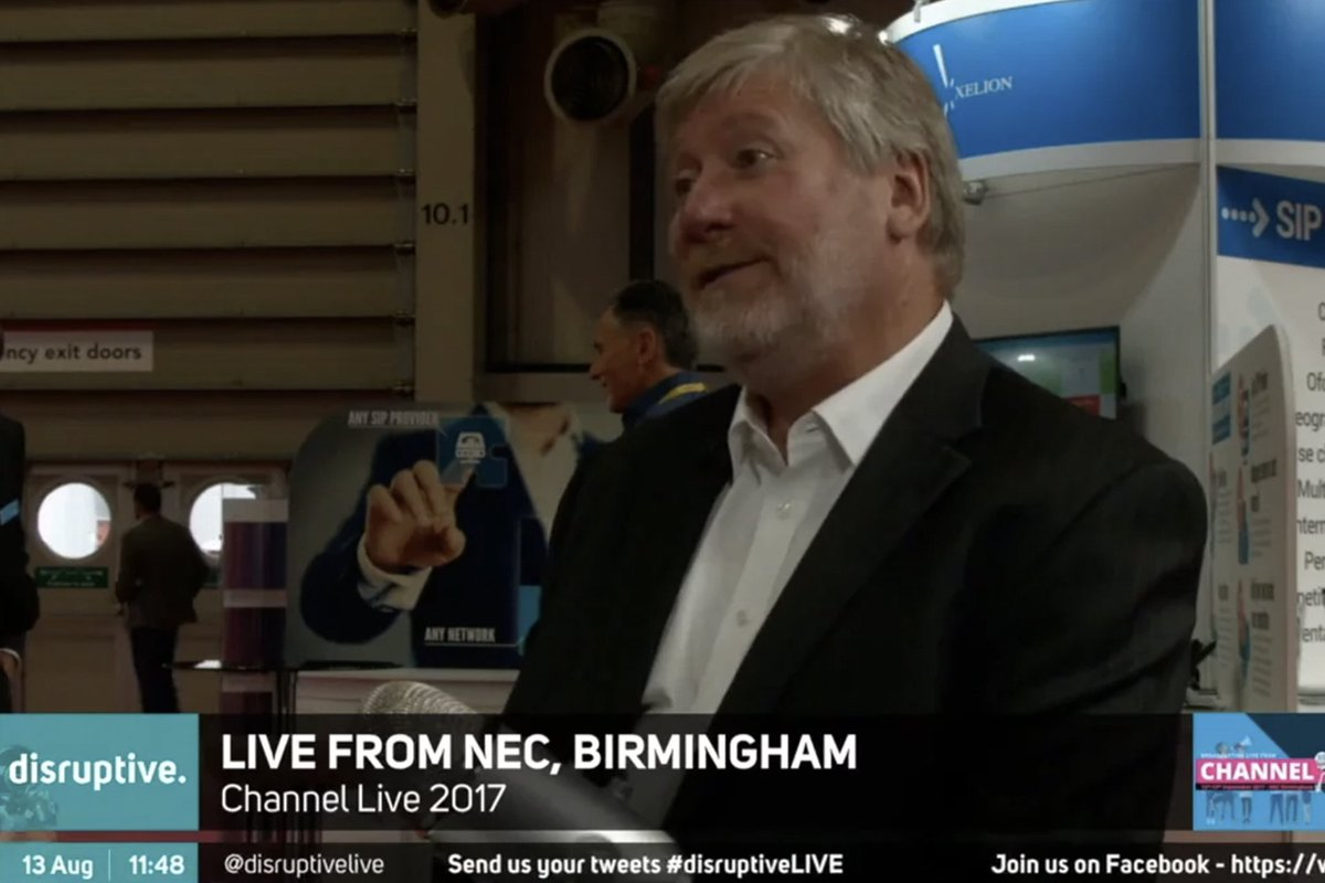 Channel Live Day 2 - Paul Lawrence, VP for Corero https://t.co/lCEga5nJ40 #DDoS #Security https://t.co/FaCWTT80be