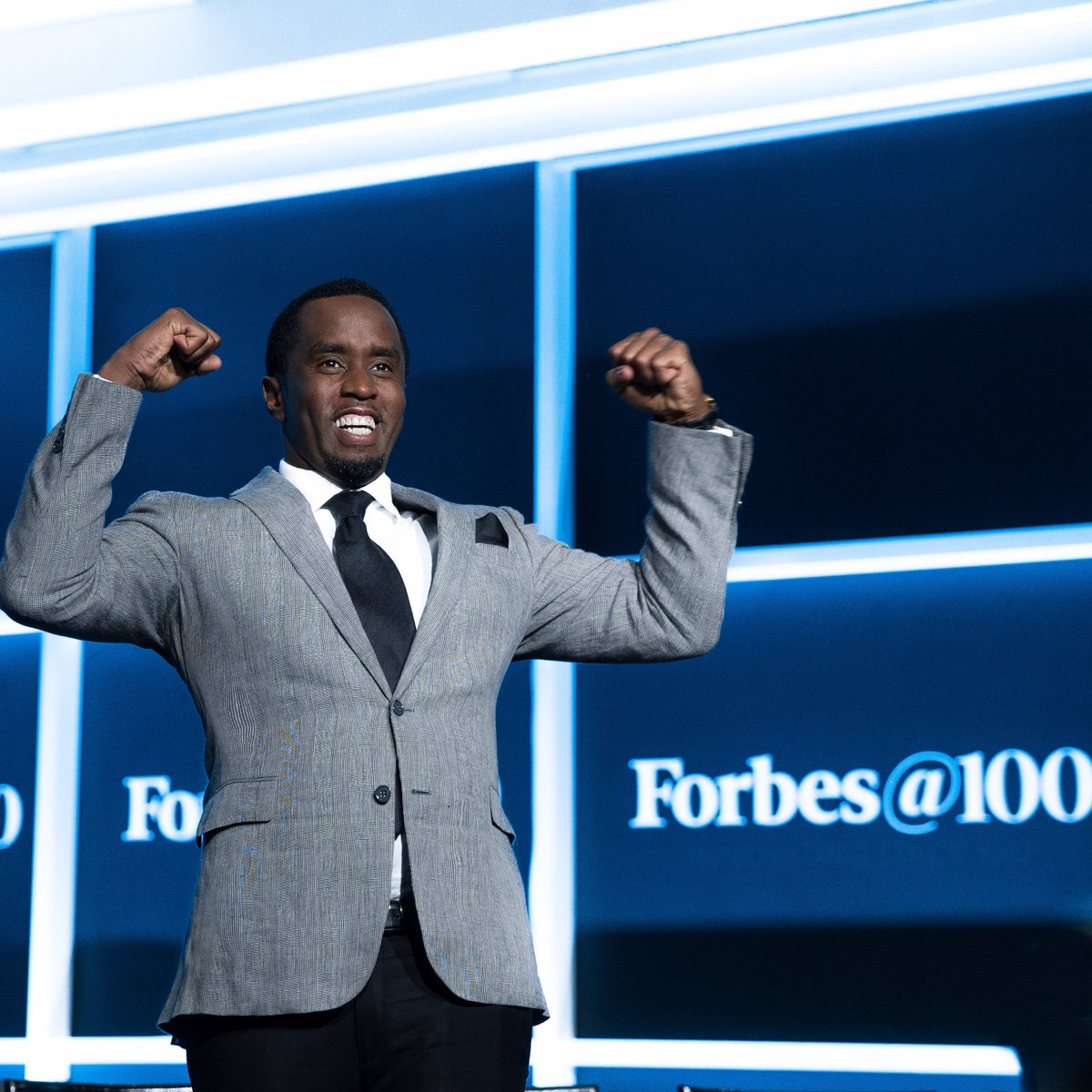 Last night was historic. I was the only African American on a stage of the brightest business minds of the world.