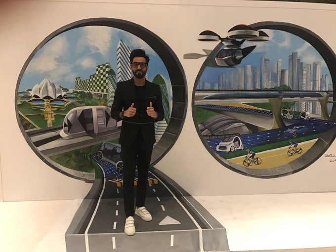 Guys!! It was so much fun being at the amazing #CityofTomorrow event in Delhi Today. Ideate. Inspire. Future is not far @FordIndia https://t.co/NTMJmEgsyX