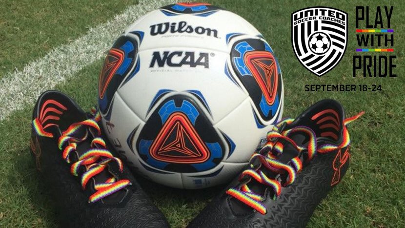 Excited to be part of #PlayWithPride week. Thank you @UnitedCoaches for your support of the LGBTQ community #respect #Allies<br>http://pic.twitter.com/vhhqAaiAmA
