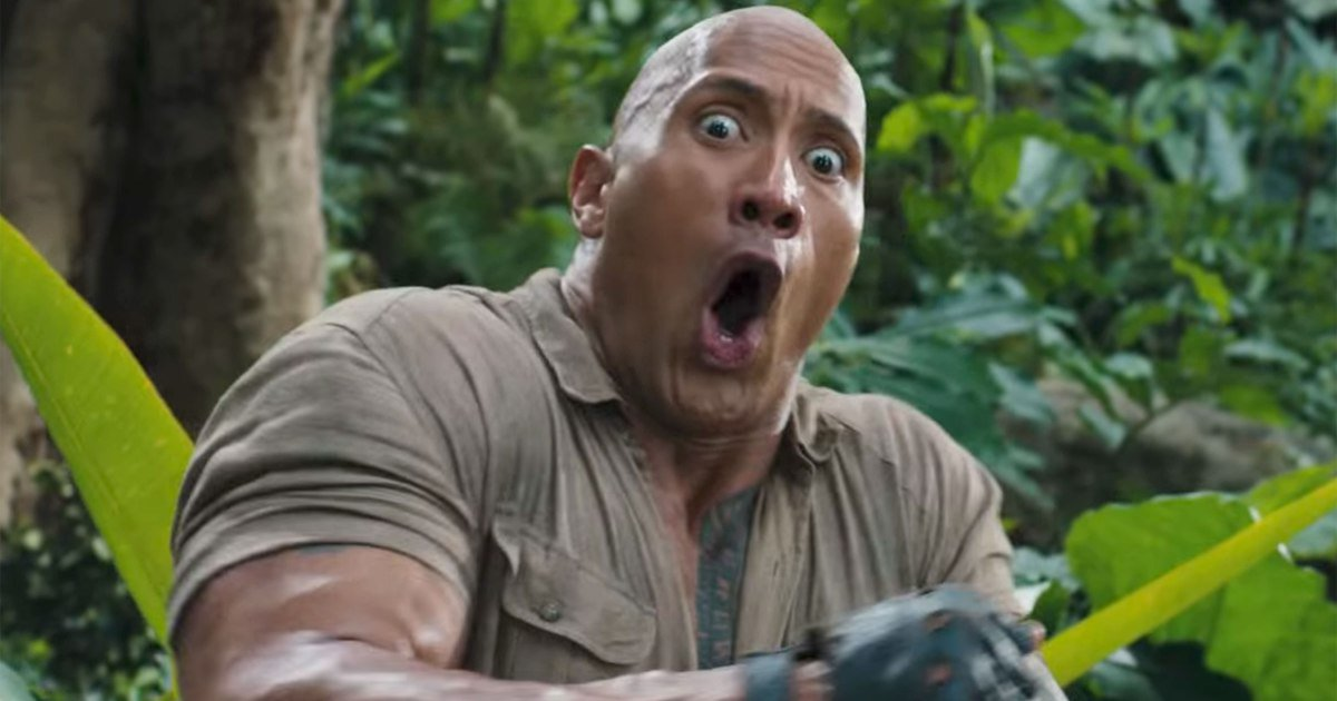 .@TheRock gets in the game in new '#Jumanji: Welcome to the Jungle' trailer: https://t.co/RCCECh8Q3Z https://t.co/rsyqW9xb0e