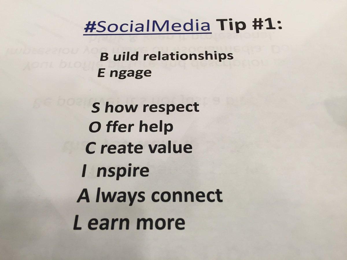 #SocialMedia Tip: Be Social! :-) <br>http://pic.twitter.com/2i9ezzmoim
