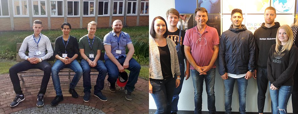 We are proud they chose #hubergroup: Our apprentices in Celle &amp; Munich already received insights into their field of activity #allthebest <br>http://pic.twitter.com/y71UVeM6pZ