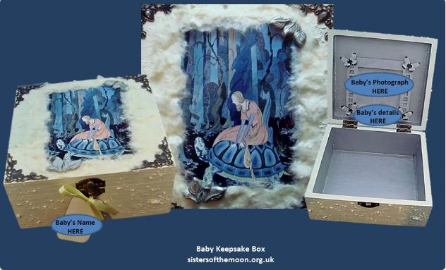 A personalised #Baby #Keepsake #Box makes an unusual #babyshower #gift. This is &quot;Fairytale&quot;. Custom too  http:// bit.ly/2ocBgp2  &nbsp;   #crafturday<br>http://pic.twitter.com/esT1XUZIvN
