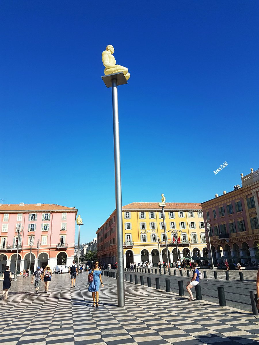 #AsmaCaali #asmacaali2 @VilledeNice #CotedAzurFrance #ilovenice #nicemoment #MagnifiqueFrance  ☆ ☆ ☆ Place Massena  Nice ☆ ☆ ☆<br>http://pic.twitter.com/XVgJa20kIh