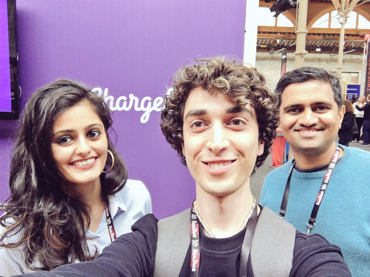 Look who I found at #saastock17 @SaaStock! It&#39;s Chargebee! check them out at  http:// chargebee.com  &nbsp;   #online #payment #saas #startups<br>http://pic.twitter.com/8O8fa9dTiG