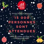 Comment ça, vous n'êtes pas au courant ? La corrida de Noël attend plus de 15 000 personnes, n'attendez plus les inscriptions sont ouvertes!