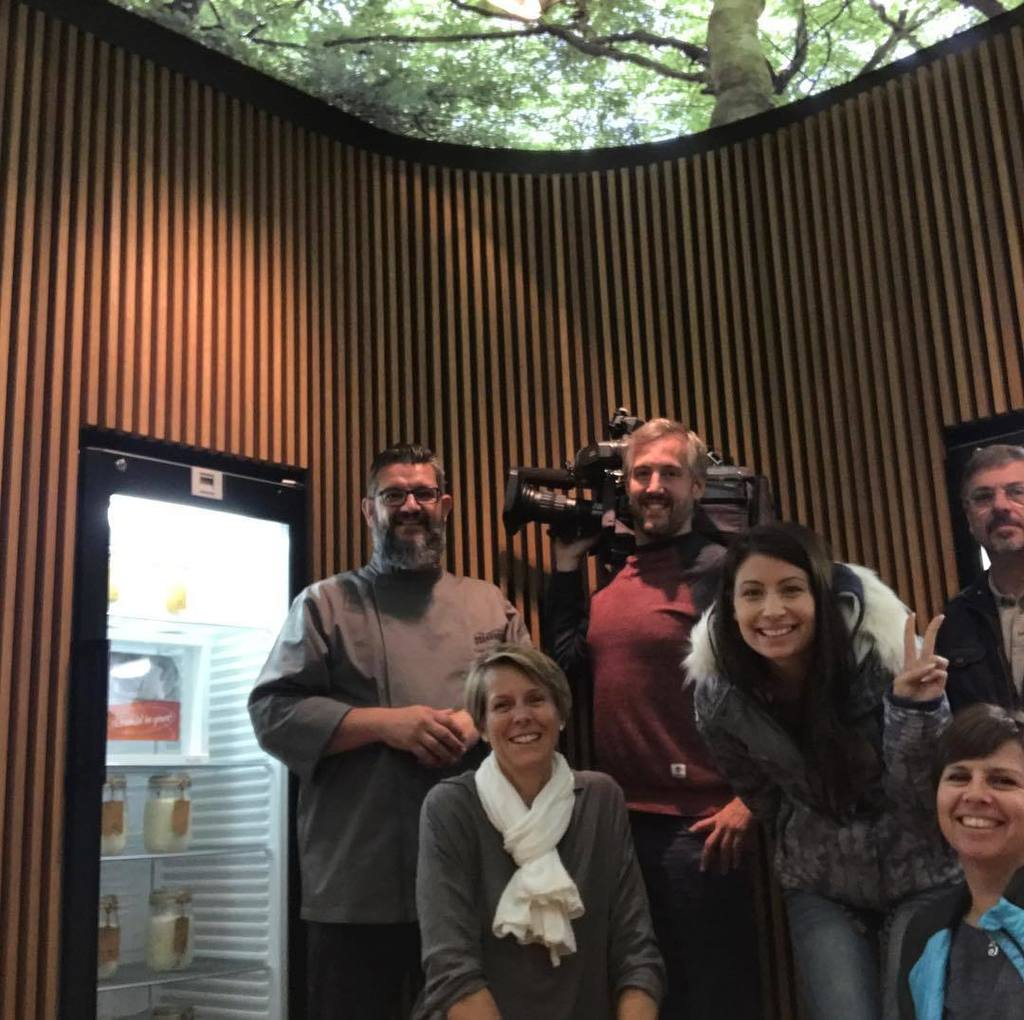 TV crew from RTL TVI #Icomme on the site. #tv #visibility #verynice #lookingforward #sourdoughlibrary  http:// ift.tt/2wxrJ4h  &nbsp;  <br>http://pic.twitter.com/7Z752BP8Zo