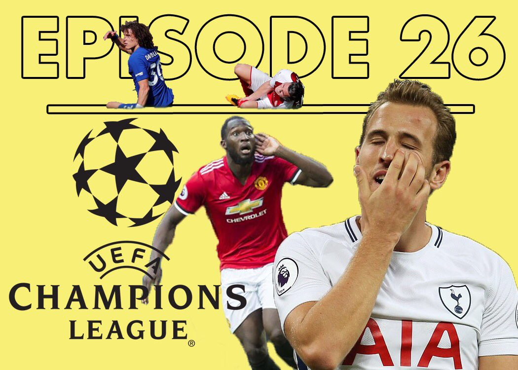 NEW EPISODE  -Arsenal frustrate Chelsea -Lukaku is kinda mean -Spurs slip -Lots of #UCL  https:// itunes.apple.com/us/podcast/two -yellows-a-premier-league-podcast/id1231989630?mt=2 &nbsp; …  #afc #cfc #thfc #mufc<br>http://pic.twitter.com/P9efTYG3ih