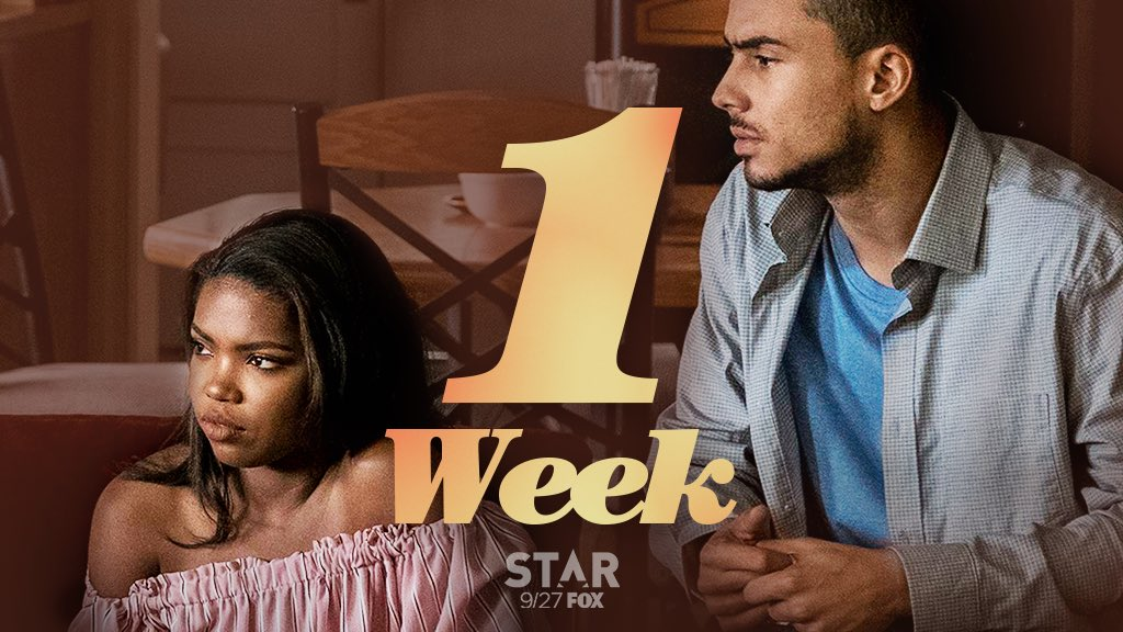 Season 2 of #STAR heats up in ONE WEEK! Catch all the drama on Wednesday, September 27 at 9/8c, right after #Empire. #CountdownToSTAR<br>http://pic.twitter.com/HYqSM7wFBw