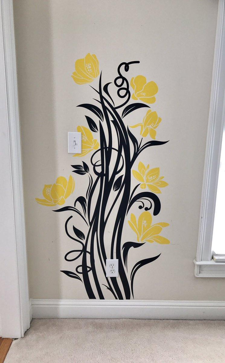 """Wall Tat Walltat Wall Decals On Twitter """"beautiful Installations From A"""