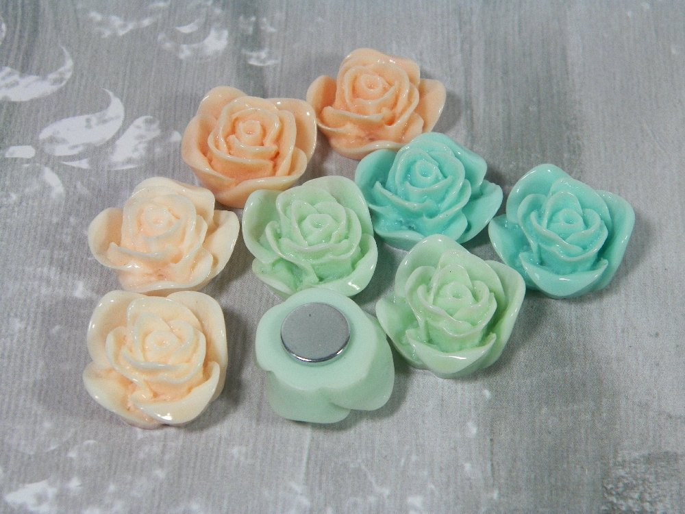 Beautiful Rose Magnets for Your Fridge, Filing Cabinet, or White Boa…  http:// etsy.me/2svMTKU  &nbsp;   #decorativeknobs #Pink<br>http://pic.twitter.com/1ff0RCoGY4