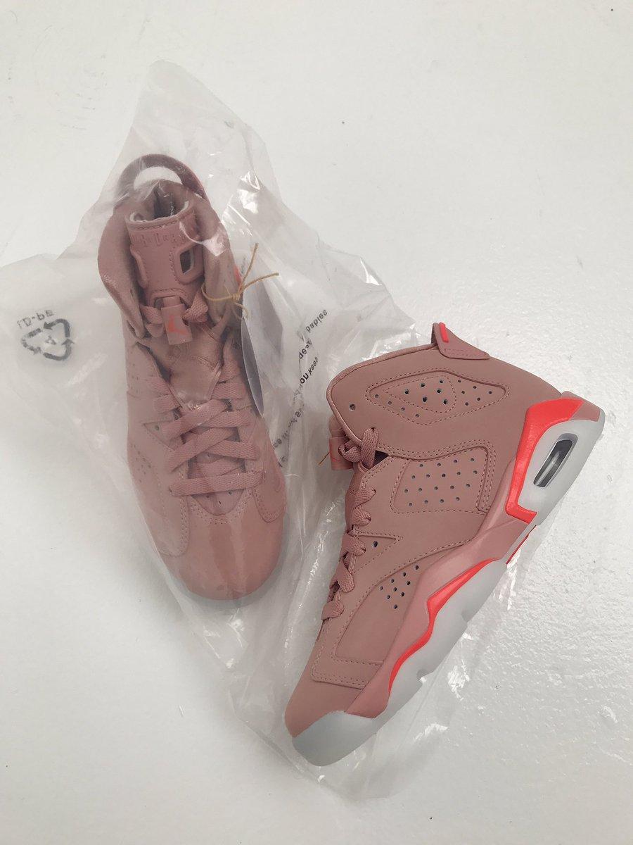 "Air Jordan ""Millennial Pink"" 6s. Designed by Me"
