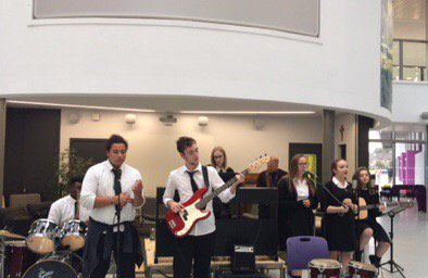 Come and listen to The Purple Katz @ACADEMYSTNICKS Open Evening #InspiringExcellence <br>http://pic.twitter.com/n7OrpRNowD