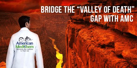 Who needs &quot;Valley of Death&quot; in #Meds4Kids R&amp;D? #children &amp; #researchers DON&#39;T! @americanmedchem the BRIDGE #RareDisease #nonprofit #socent<br>http://pic.twitter.com/GGb5gtipTT