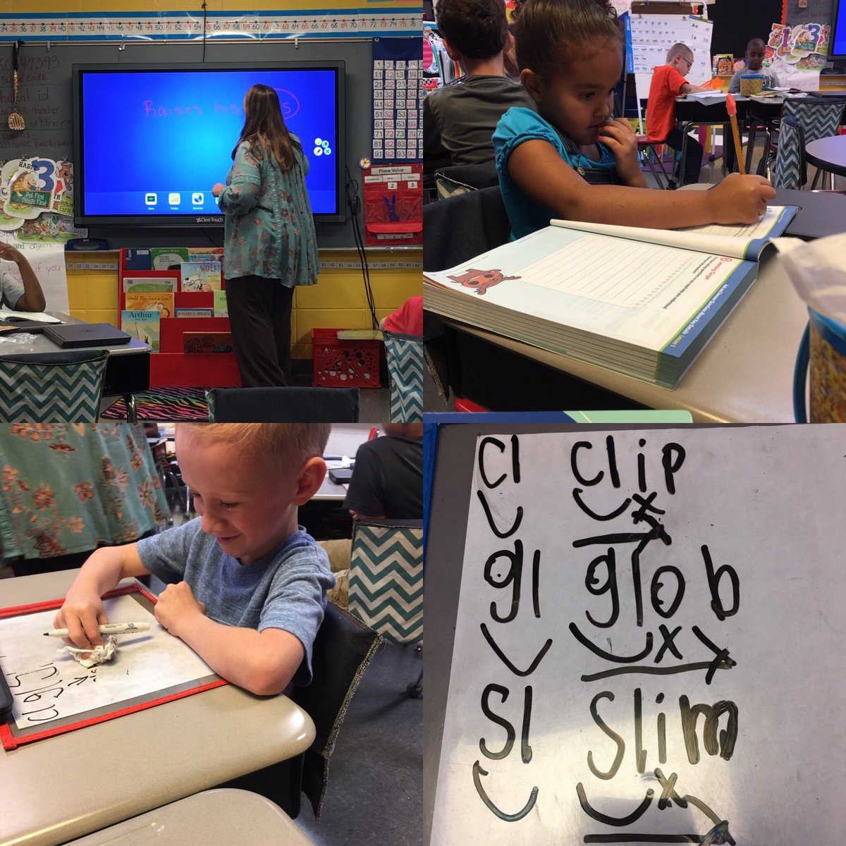 2nd gr Ss play the phonics eraser game, review prickly adventure text, &amp; identify key details @TCBOE_LES #LeadingTheWay <br>http://pic.twitter.com/mtCxbabCbE