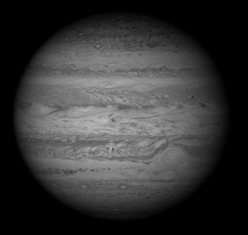 5 years ago #Today @NASA_Hubble imaged the large scale turbulence, small storms, and the Great Red Spot of #Jupiter  http:// bit.ly/2d8QESU  &nbsp;  <br>http://pic.twitter.com/2ZWeZ3zcT0