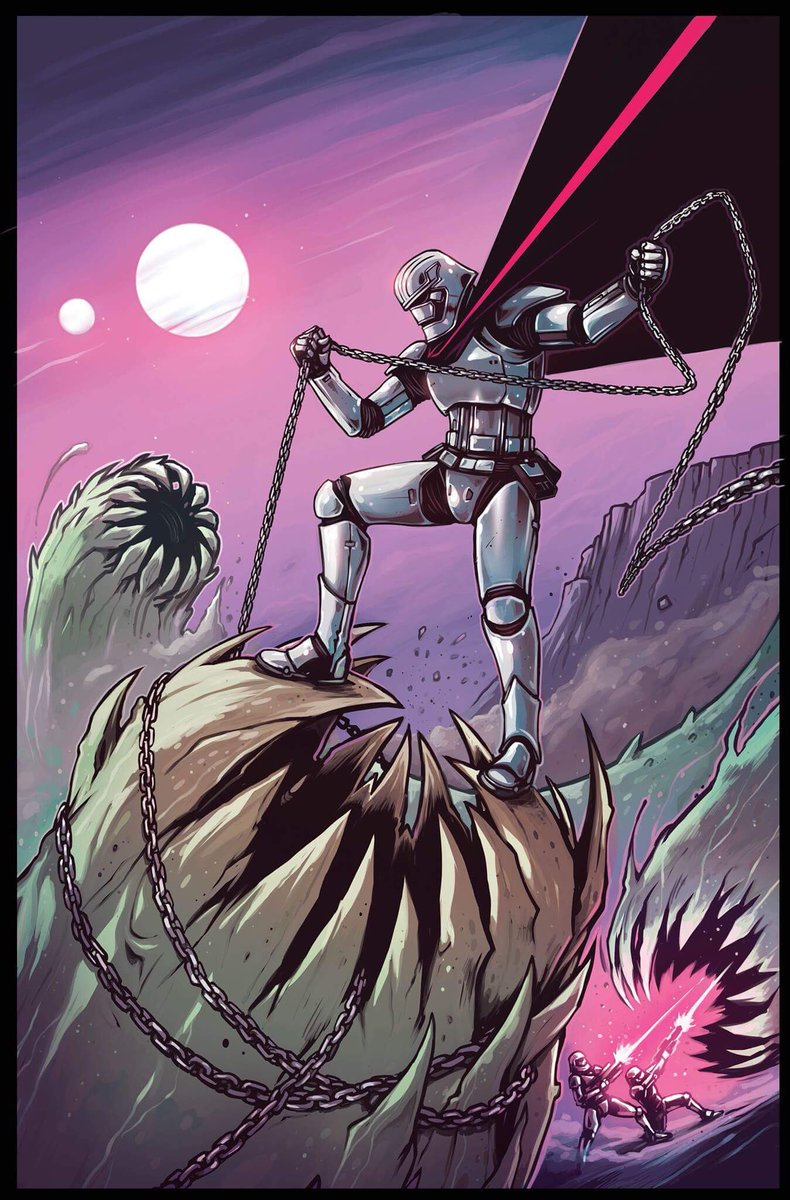 Captain Phasma #2 is out today! Behold my variant cover!  Enjoyed drawing this so much :D #StarWars #marvel<br>http://pic.twitter.com/DzDKz5zkiB