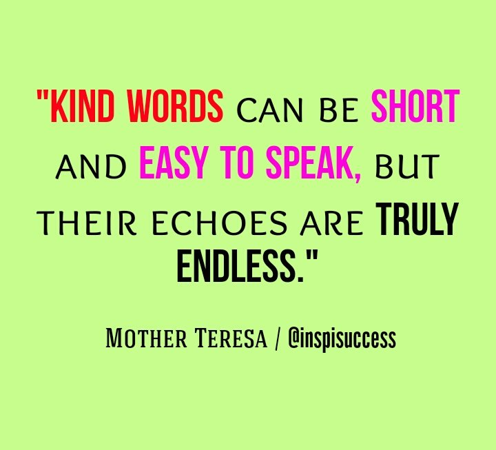 Kind words..  #WednesdayWisdom #MakeYourOwnLane #defstar5 #quoteoftheday #quotes #quote #motivation #inspiration #ThursdayThoughts #kindness<br>http://pic.twitter.com/8pz7BozGzs