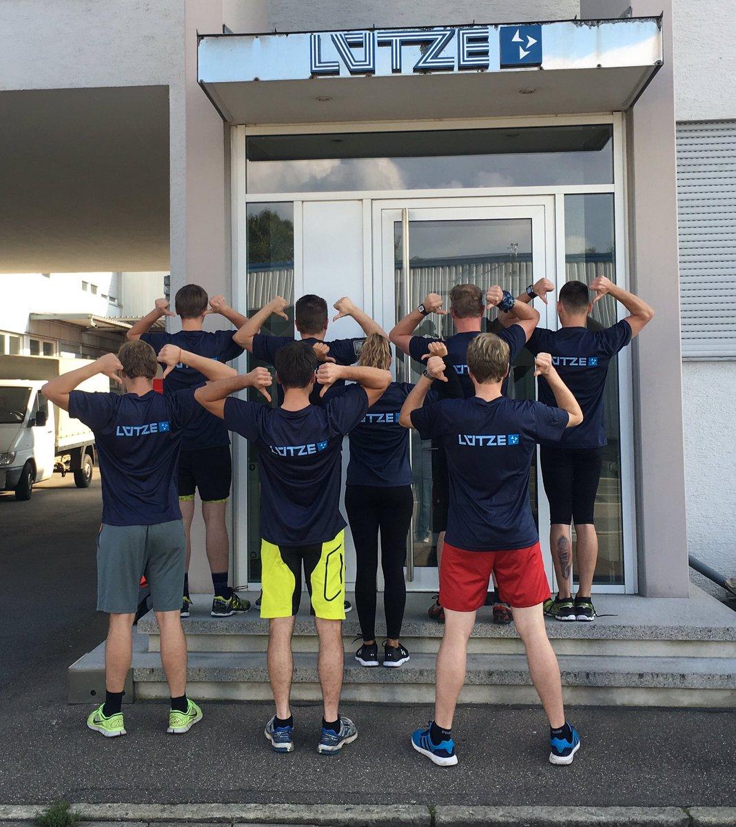 Heute ist Waiblinger #Firmenlauf - Wir wünschen dem LÜTZE-Team viel Erfolg 💪💪💪...
