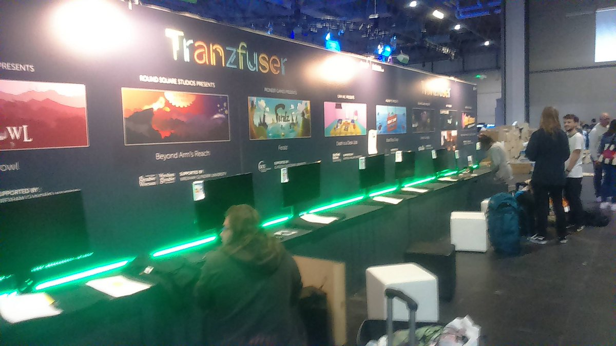 All set up at @EGX really excited for tomorrow #Tranzfuser #GameDev #Indie #Expo <br>http://pic.twitter.com/NjWks7pb9j