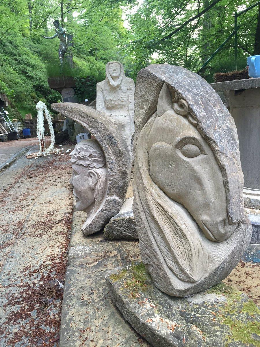 The Broken Grindstone Collection #storrswood #sheffieldissuper #sheffieldbizhour #stonemason #artsheffield #artist<br>http://pic.twitter.com/t3FFwhZs72