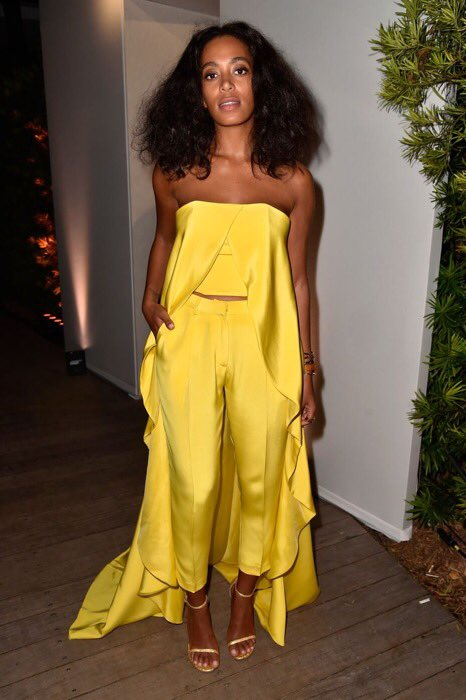 Christian Siriano's nod to Solange for the new Barbie Collection. http...