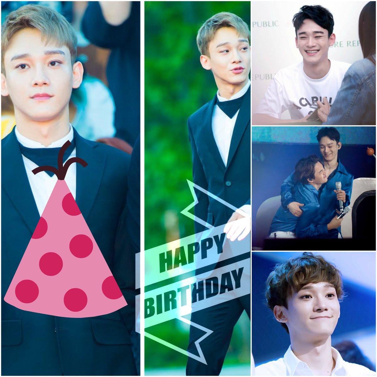#HappyChenDay trends #1 worldwide for #EXO Chen's birthday! https://t.co/j7rBDqadya