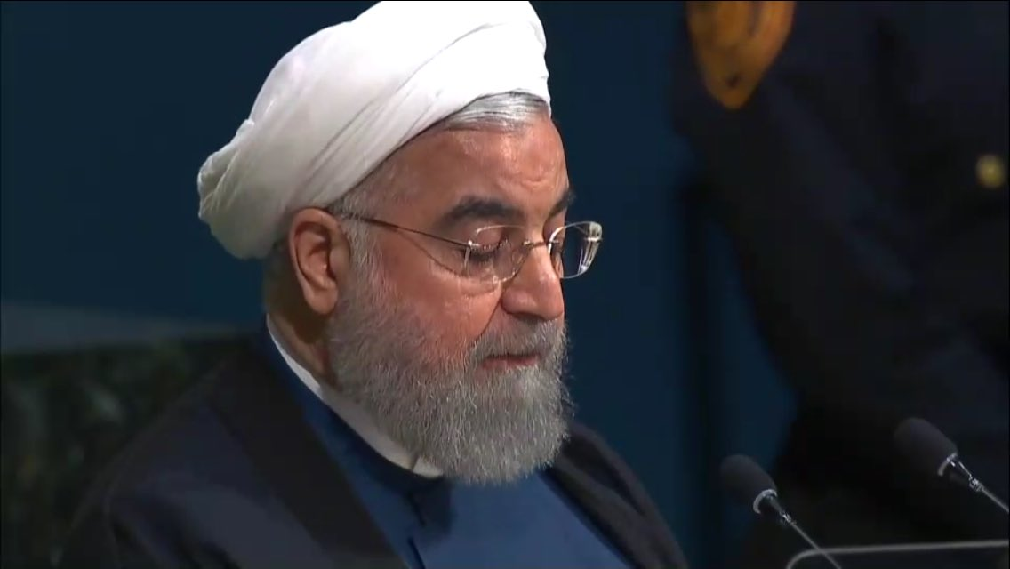 &quot;US govt... has only brought war, poverty, misery, rise of #terrorism&quot; #Rouhani of #Iran at #UNGA <br>http://pic.twitter.com/n8S5zvmBs4