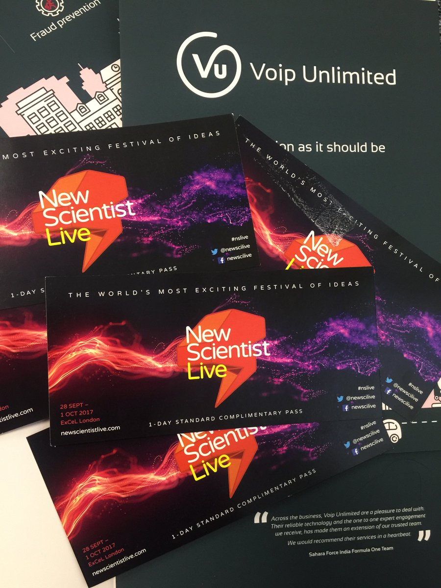 We are giving away tickets to New Scientist Live @newscilive  @ExCeLLondon on 28thSep - 1stOct #Retweet to #enter! #nslive #competition #win<br>http://pic.twitter.com/1oIL4qNyCP
