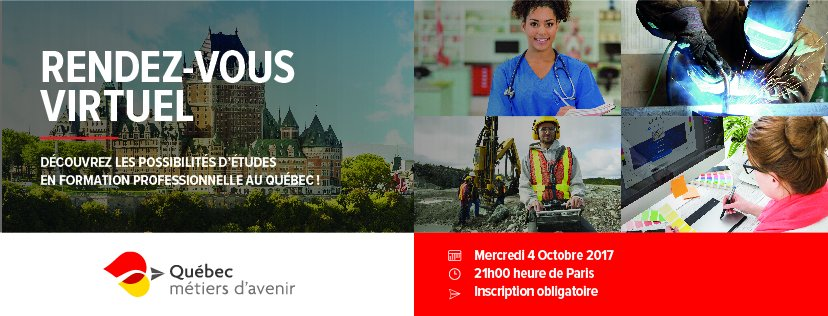 [#EduCanada] Interested in #vocational #training in ? Join @Educinter online Oct 4th at 9pm!  http:// bit.ly/2wpl2fw  &nbsp;  <br>http://pic.twitter.com/HNucOVa5aH