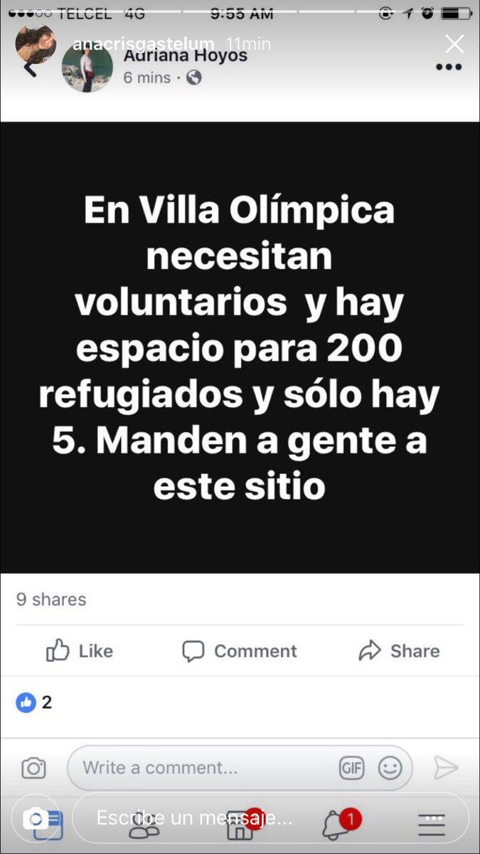 Villa Olímpica tiene mucho espacio!!!! https://t.co/TnsKOu2rUT