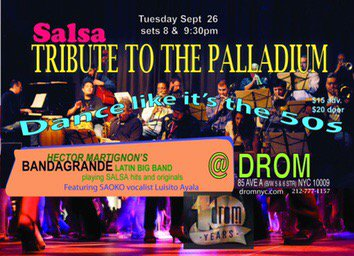Want to dance to some fantastic Latin Music? Check out Hector Martignon at the Drom! #Salsa #palladium #latinmusic <br>http://pic.twitter.com/VinRQV3J7r