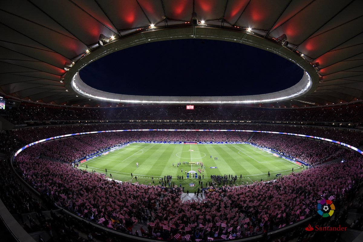 .@atletienglish&#39;s new stadium, the Wanda @Metropolitano, will host the 2018/19 #UCL final!  <br>http://pic.twitter.com/B0tcTWg6In