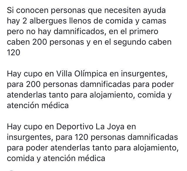 Por favor ayuda para difundir #sismocdmx #fuerzamexico https://t.co/U8aLpwVRgQ