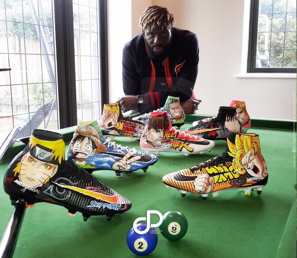 Bakory Sako&#39;s incredible Nike Merciuals boot collection  #CPFC <br>http://pic.twitter.com/JGQWiV05ud