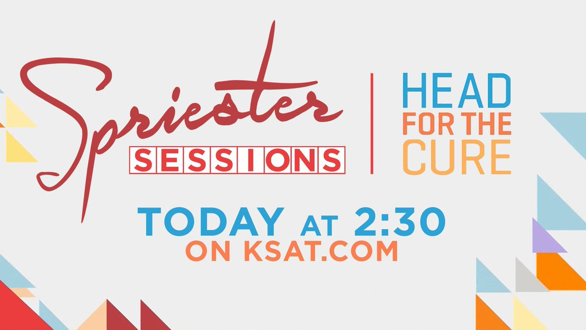Spriester session: 'head for the cure' live discussion on #ksatnews