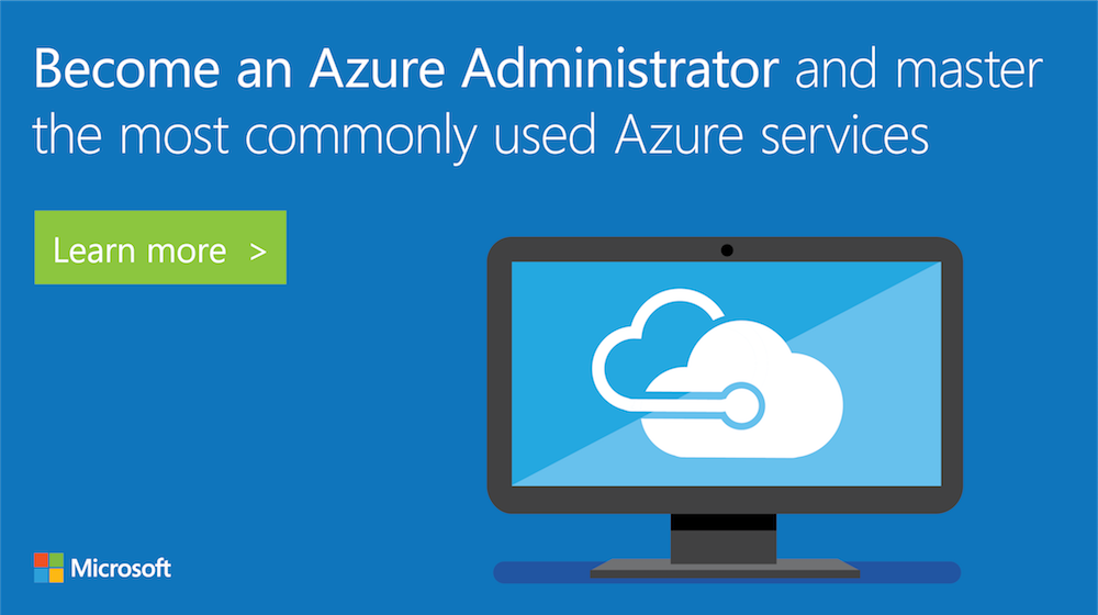 Take this course to become an #Azure Admin &amp; learn how to implement, monitor, and manage services in Azure:  http:// msft.social/Z9CRhZ  &nbsp;  <br>http://pic.twitter.com/wSllcCROxn