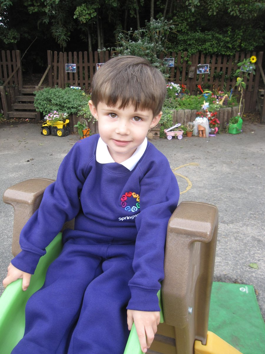 A huge well done to my superstars who started Nursery this morning ... you were all amazing @Springwellpark_ #proud #firstday <br>http://pic.twitter.com/kyTRee1P20