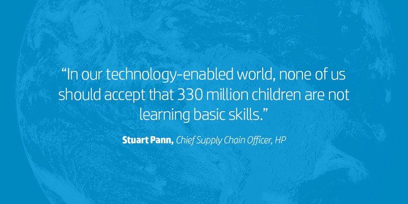 At #GCWeek: @HP announces HP School Cloud w/ @OpenStax—opening access to #edu materials to students w/o internet  http:// hp.tl/601582u6f  &nbsp;  <br>http://pic.twitter.com/eZ5SQ0ML7I