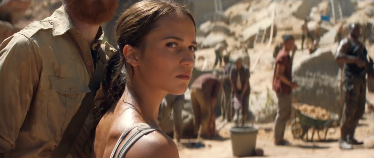 Tomb Raider Trailer Featuring Alicia Vikander Unveiled