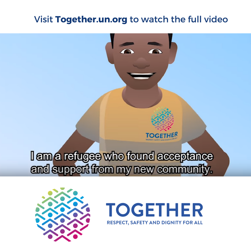 What is it like to be a refugee? On #PeaceDay, watch & share this story from Myanmar  https://t.co/SOlH8nGFAk#JoinTogether