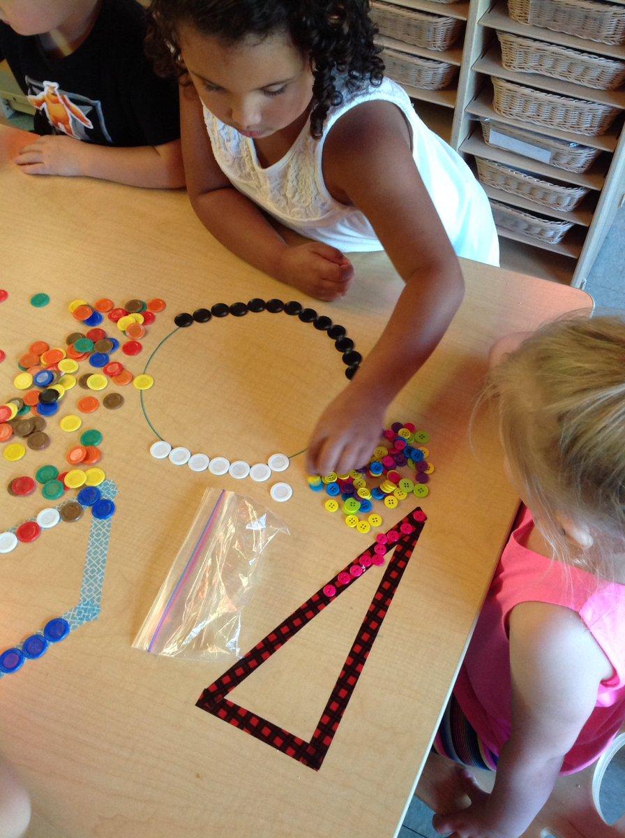 Exploring shapes! #finemotor #sharing #alldayprek @Humboldt_Hawks @StJosephSchools<br>http://pic.twitter.com/N5F9QjdO90