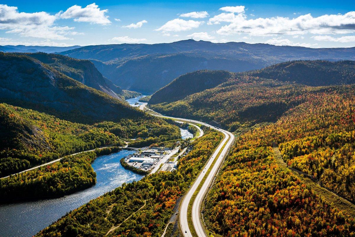 A1. We love @drukennedy's photo of Humber Valley's beautiful fall foli...