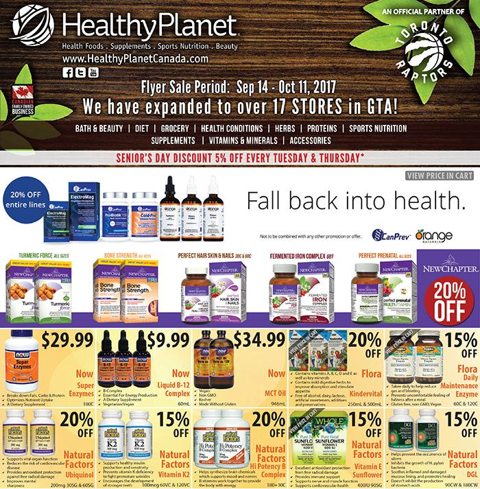 For healthy planet
