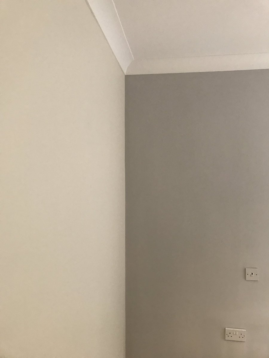 Bedroom Completed In Dulux Almond White Polished Pebble Sunshine Pd Duluxuk Decorators Paint Grey Https T Co Nvwpv3ftyo